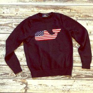 American flag Vineyard Vines sweater